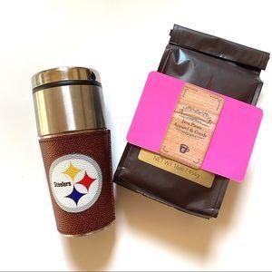 Pittsburgh Steeler Travel Coffee Mug Tumbler